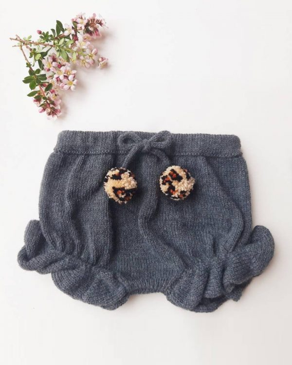 Baby bloomers with frill legs