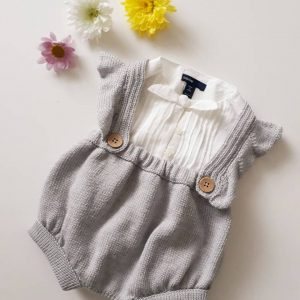 Baby Bloomers with Frill Straps