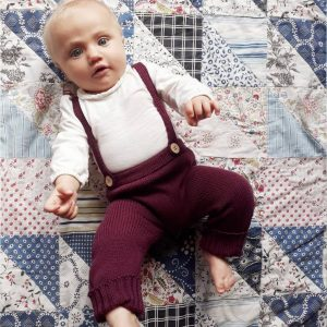 Baby Leggings with Straps