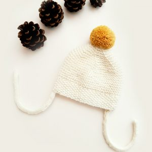 Winter baby hat