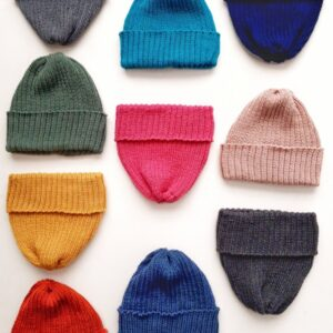 Beanie hat for little ones and big ones